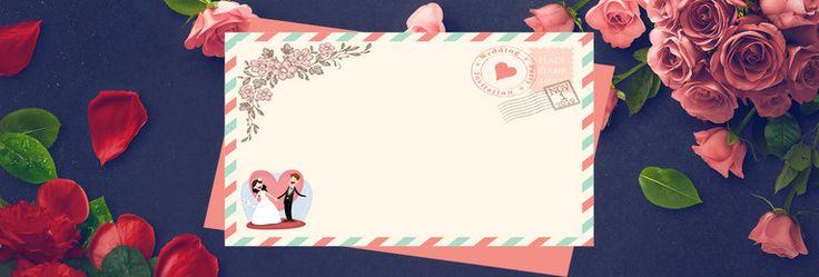 dark blue romantic rose wedding fair electricity supplier banner