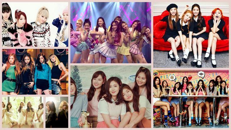 K-pop, korean girl groups Знакомство с k-pop. Женские музыкальные группы.