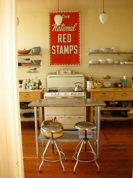 studio style kitchen.