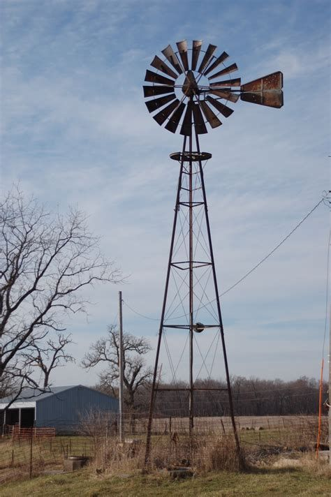 Old Fashioned Wind Turbine