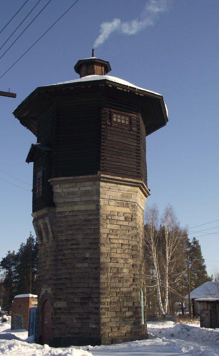 Водонапорная башня на ст.Анатольская