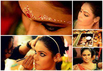 The Kohl rimmed eyes! Video app, Bridal makeup, Video