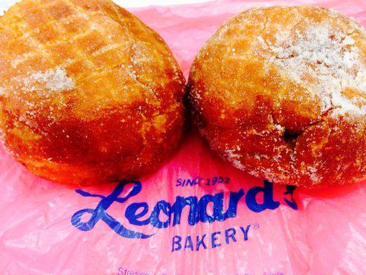 Masaladas, the anticipation from Leonard's Bakery.