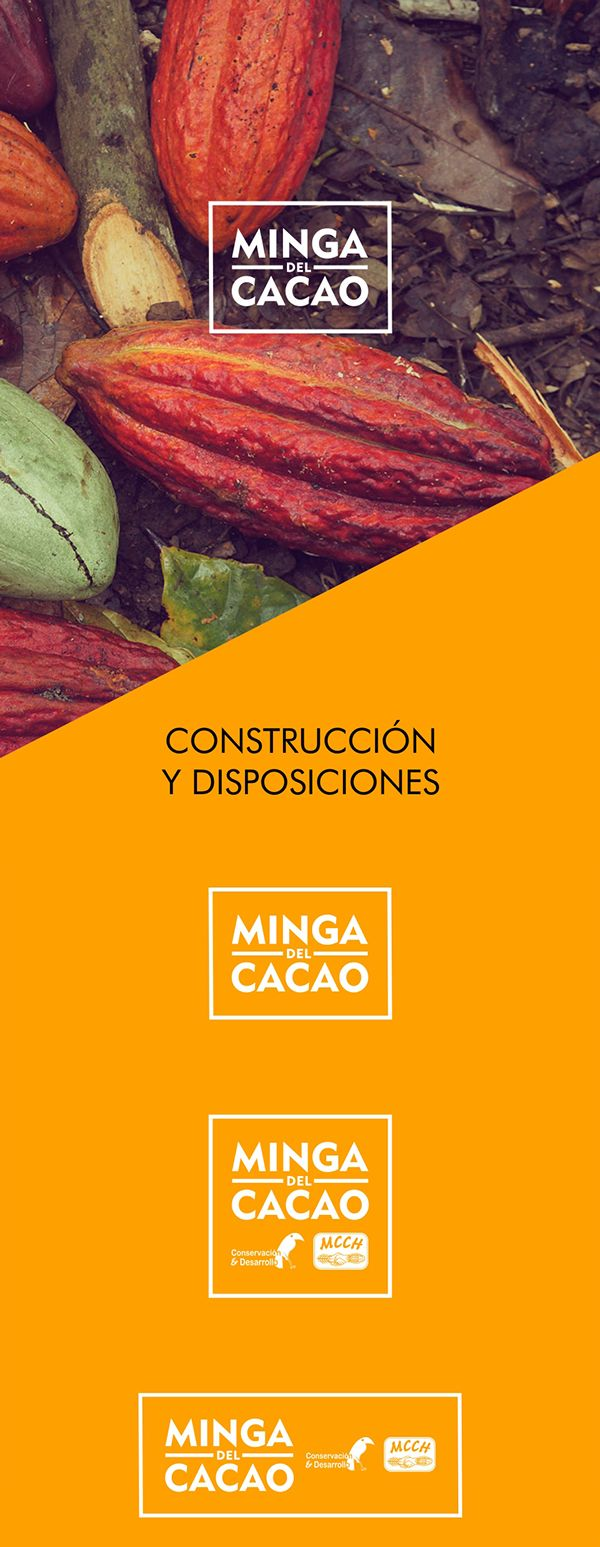 MINGA DEL CACAO / IDENTIDAD on Behance