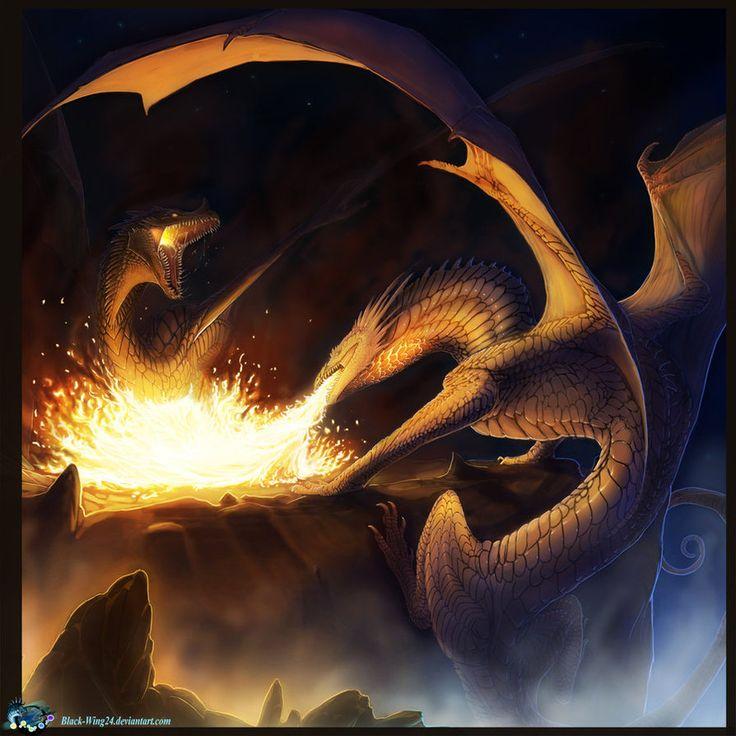 Dragon Fight tutorial animation by Black-Wing24 on DeviantArt