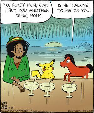 Brevity comic strip