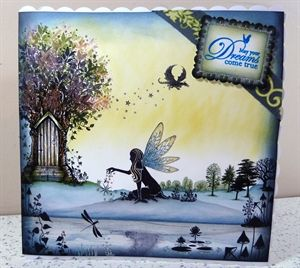 Lavinia Stamps Fairy Door by: ACraftersLifeForMe