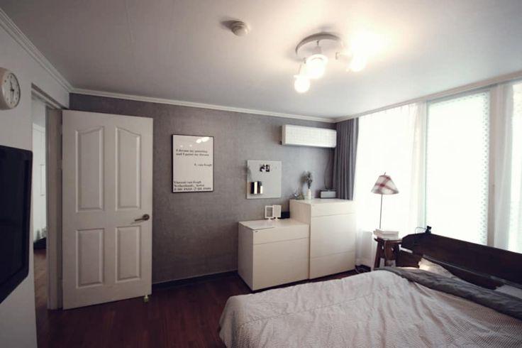 침실 사진 : [홈라떼] 양평동 32평 아파트 전세집 홈스타일링    homify