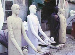 mimmo paladino sculpture