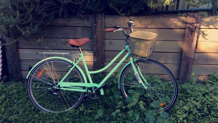 Vintage bike ❤️new girl