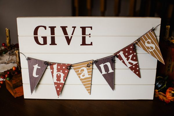 Hey everyone! I don't, know about you, but my Thanksgiving decorations are pretty sparse. I needed something new and cute to put on my table. I came up with this Give Thanks banner/slat sign. Here is what I did to make it: Materials used (a little different from the picture): – Large Slat Sign –...Read More »