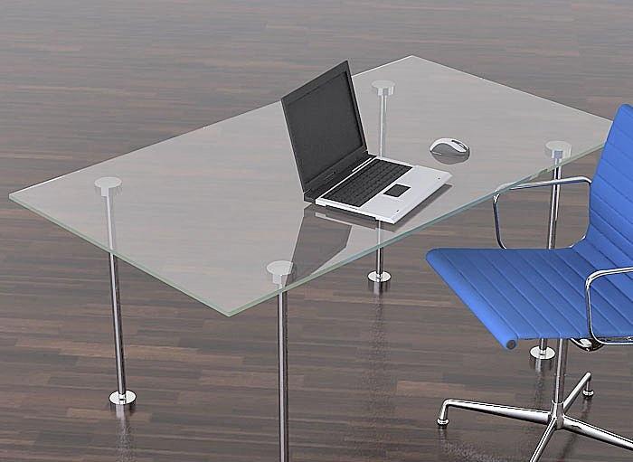 M s de 25 ideas incre bles sobre escritorio de vidrio en for Escritorio de vidrio