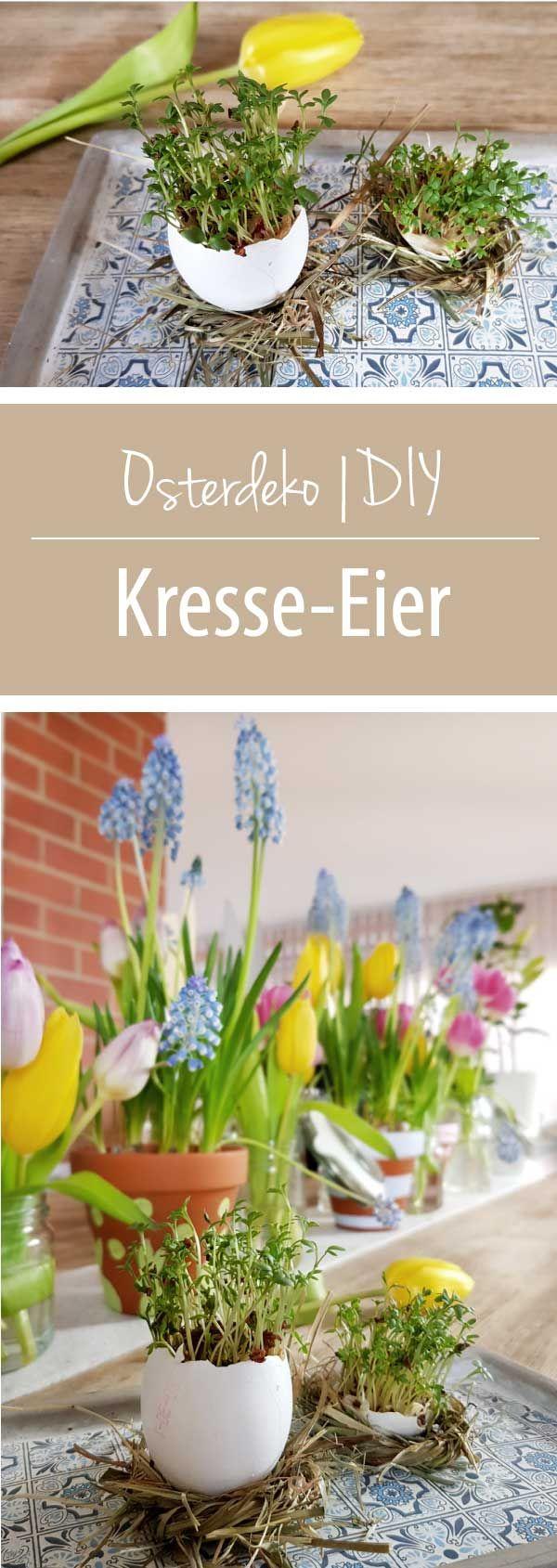 Osterdeko-DIY-Kresse-Eier