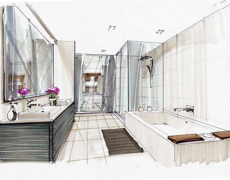 ariel brindis on instagram markersketch architecturalsketching interiordesignsketch interiordesign by