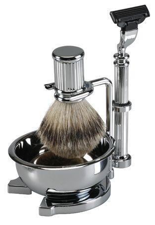 Traditional mens shaving kit - £55.00