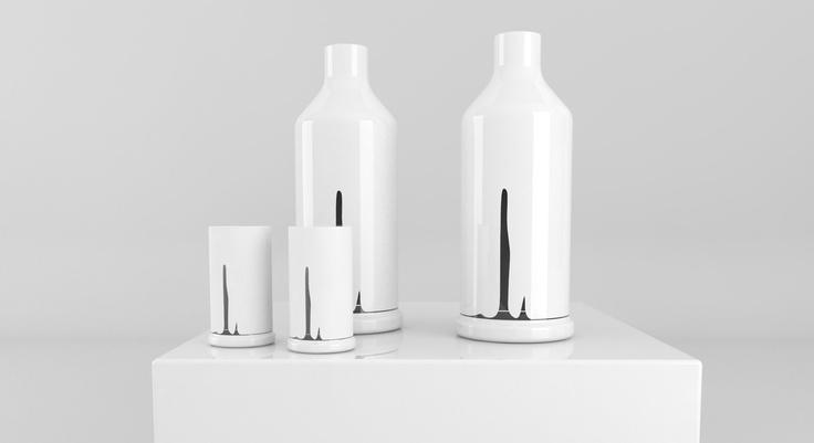 Spuma di mare, Glass & Bottle.