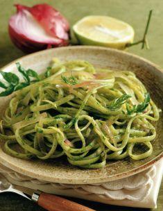 Trenette al limone - Tutte le ricette dalla A alla Z - Cucina Naturale - Ricette, Menu, Diete