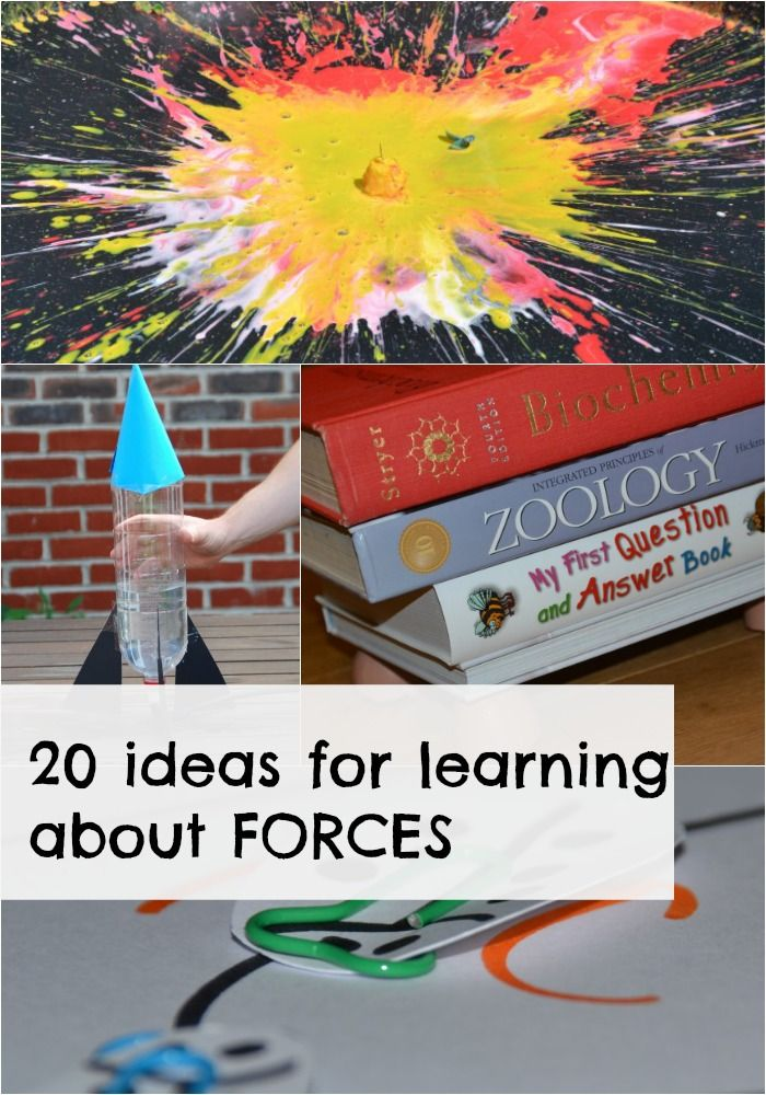 20 AWESOME ideas for learning about FORCES. Great for Key Stage 1 and Keys Stage 2 #Science