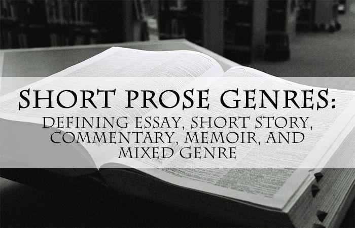 mixed genre essay
