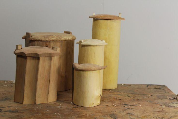 Sean Hellman: Shrink pots, works in progress