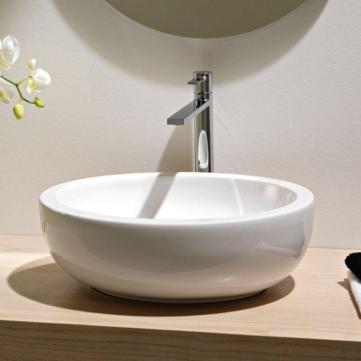 Planet Ceramic Vessel Bathroom Sink