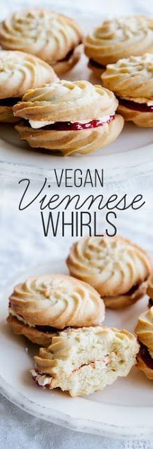 Vegan Viennese Whirls - My Kitchen Recipes