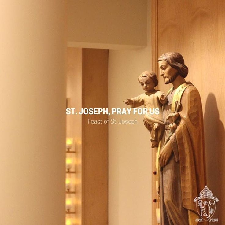 Happy Solemnity of St. Joseph, husband of the Blessed Virgin Mary! #PrayforUs #FeastDay #ExperienceLent