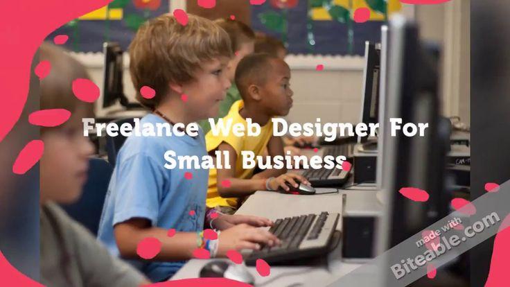 Freelance Web Designer For Small Business