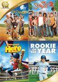 The Sandlot/The Sandlot 2/Everyone's Hero/Rookie of the Year [DVD]
