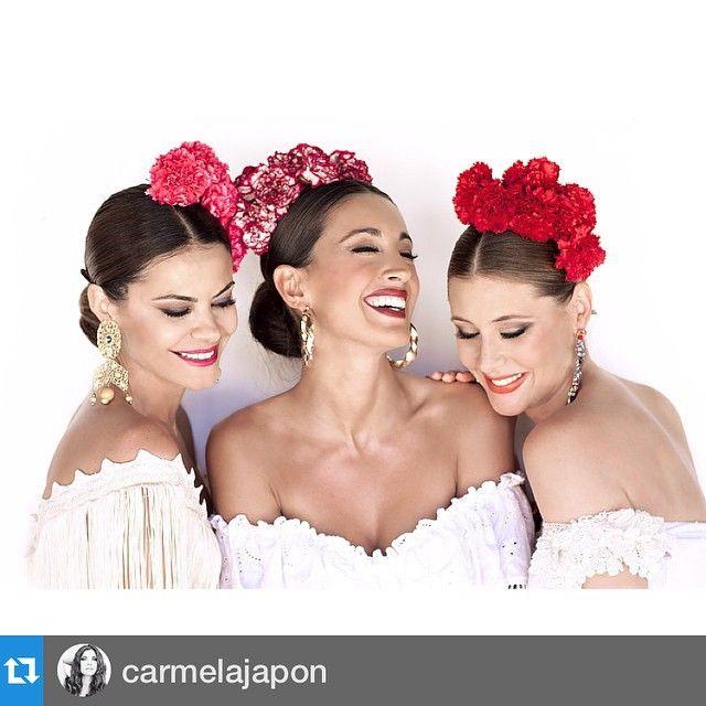 #Repost @carmelajapon ・・・Estas tres bellezas se han puesto flamencas y han posado para mi en una editorial muy especial para la revista love que mañana verá la luz! Ha sido un lujo trabajar con amigos y el resultado lo demuestra. Sois unos cracks todos y os quiero como no podríais imaginar.  @carmelajapon  Asistente fotografía @lola.barco  @cristobanez  @quinoamador y #patriciafranco  @cerratopaco  Asistente producción @lola_taita  Agradecer a #fincasanantonio #morantedelapuebla su…