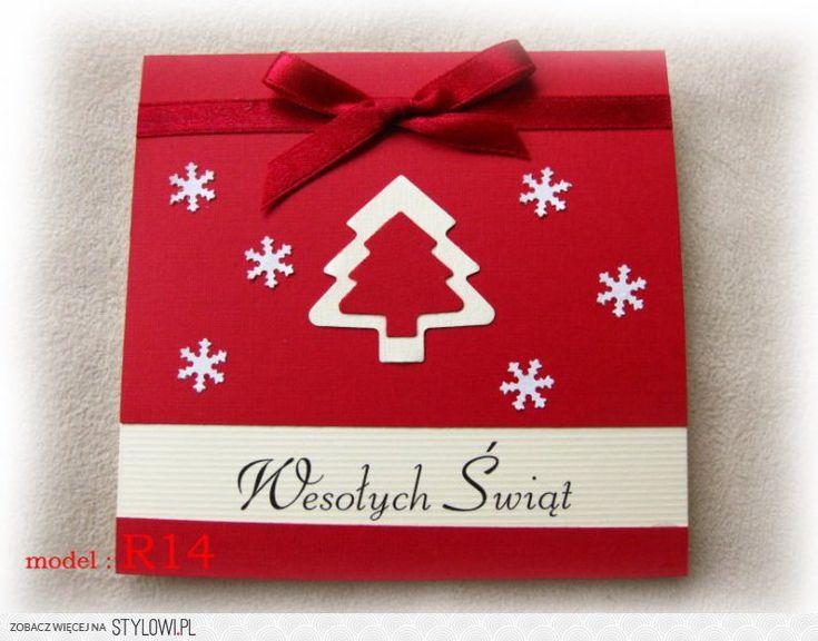 KARTKI świąteczne ręcznie robione 48 modeli (1311948792… na Stylowi.pl