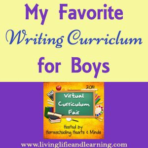 My Favorite #Homeschool Writing Curriculum for Boys | Living Life and Learning @Monique
