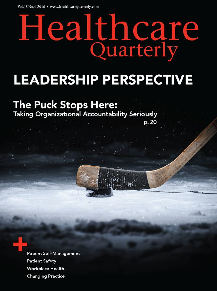 Healthcare Quarterly Vol. 18 No. 4 2016 :: Longwoods.com
