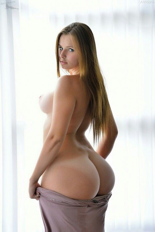 Chubby girl long hair nude