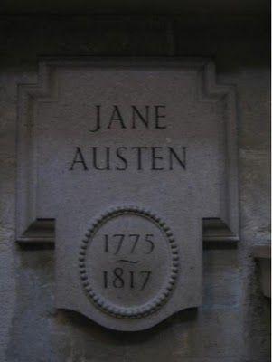 Jane Austen, Westminster Abby.