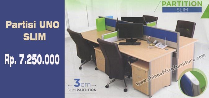www.shineofficefurniture.com partisi kantor UNO. Hub. 021-55958120 / 55963749