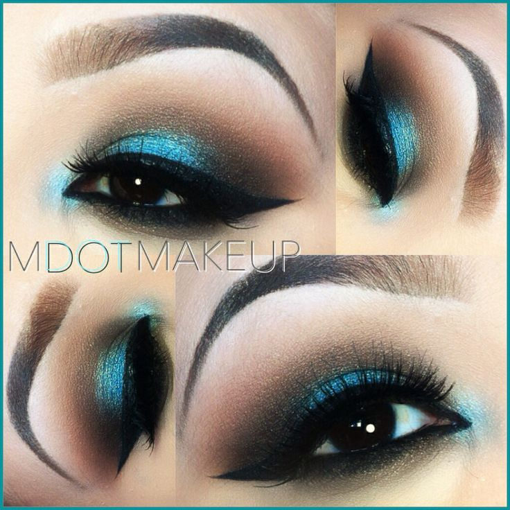 Teal Smokey Eye By Igs Mdotmakeup Mdotmakeup Amp Makeup