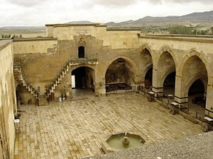 Caravanserai were established all along the ancient trade routes providing rest, food and water for tradesmen and their animals