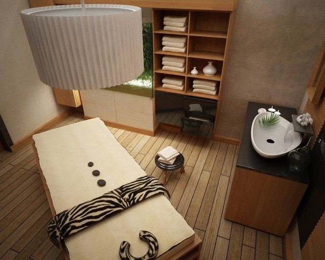 I would have my own MASSAGE ROOM! SWEET =)