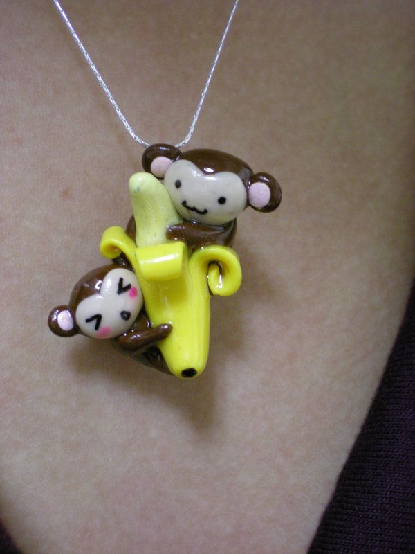 262 best Cute Clay Animal Charms images on Pinterest ...