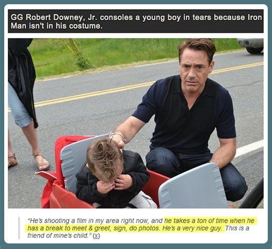 Robert Downey Jr Kids: Robert Downey Jr. Deals With It…