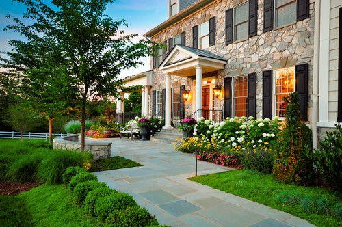Great Falls residence, VA. Grow Landscapes.