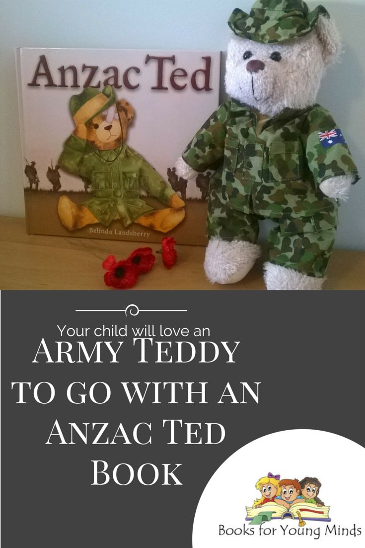 "You can WIN one of these Army teddy bears for your child in time for Anzac Day by entering our ""WIN an Army Teddy Bear"" competition during March 2015. Click through for further details and T&Cs."