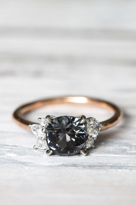 Diamond Engagement Rings One Unique Black Diamond