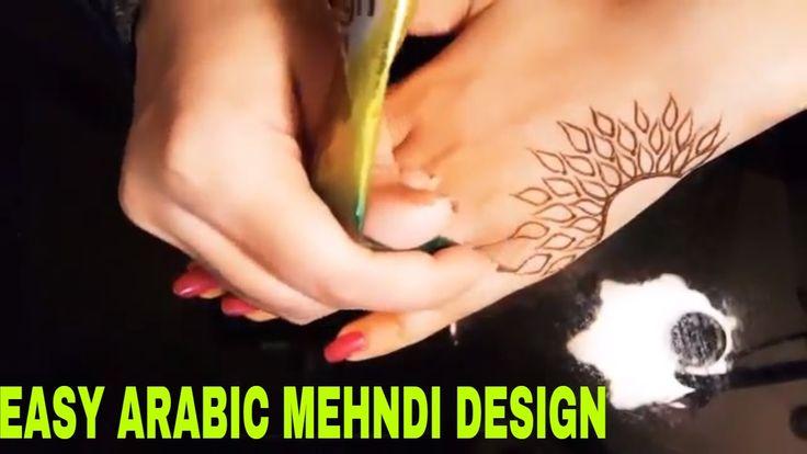 Beautiful Arabic Mehndi Design    simple and easy arabic mehndi design