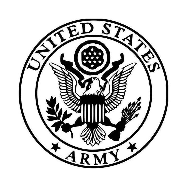 United States Army Great Seal America U S Military Vinyl