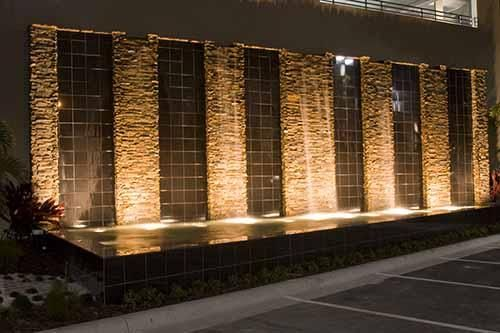 78 best images about outdoor diy on pinterest lighting for Feature wall exterior
