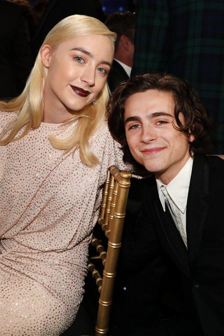 Timothée Chalamet and Saoirse Ronan's Real-Life Friendship
