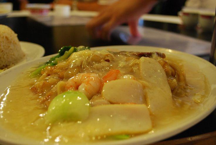 Malaysian Chicken Chow Fun (Sar Ho Fun/Ho Fun)