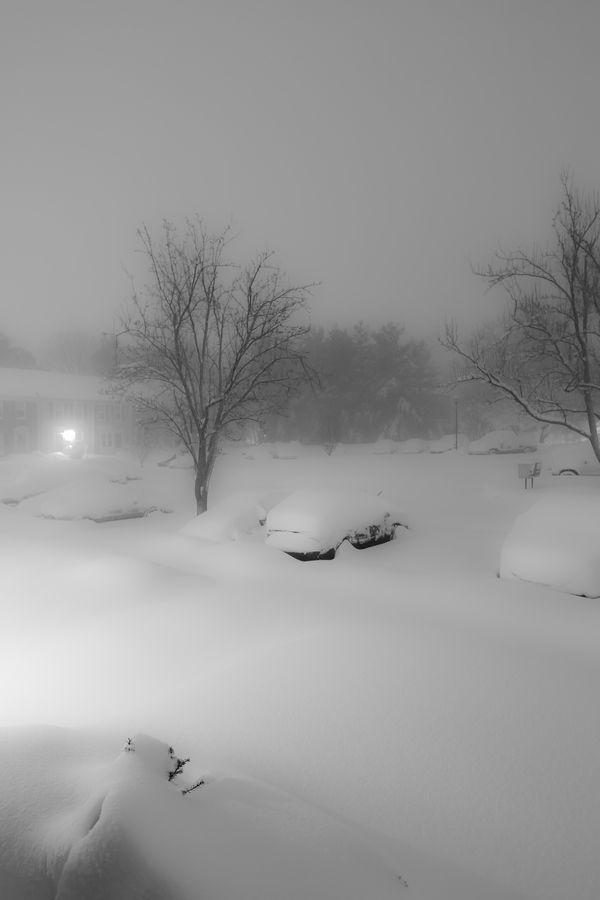 "Snowmageddon 2010.  This storm dropped 30"" in the suburbs south of Baltimore."